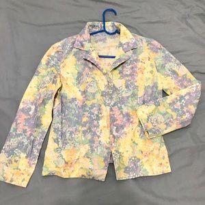 Tops - Floral coat